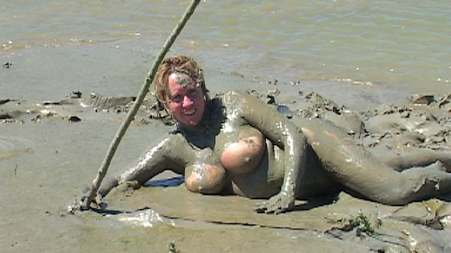 Big tits mud