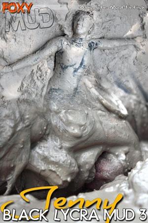 Jenny - Black Lycra Mud 3