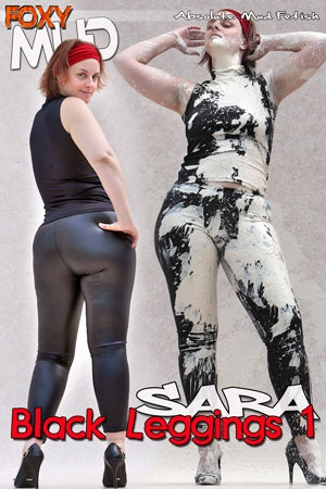 Sara - Black Leggings 1