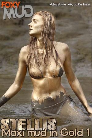 Stellis - Maxi mud in gold 1