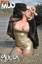 Fur coat and gold 1