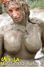 Yulia first mud 2