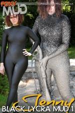 Jenny - Black Lycra Mud 1