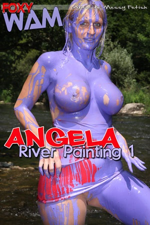 Angela - River Painting 1