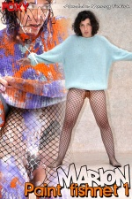 Marion - Paint fishnet 1