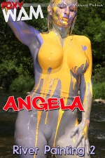 Angela - River Painting 2