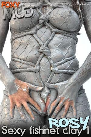 Roxy - Sexy fishnet clay 1