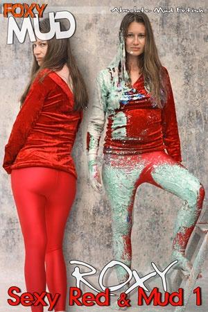 Roxy - Sexy red & Mud 1