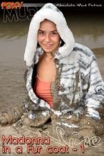 Madonna with fur coat 1