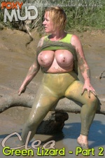 clea - Green lizard 2
