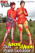 Aurore - Duo paint outdoor 1